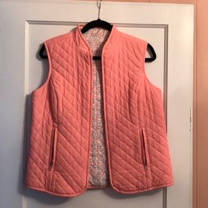 Reversible Vineyard Vines Vest NWOT